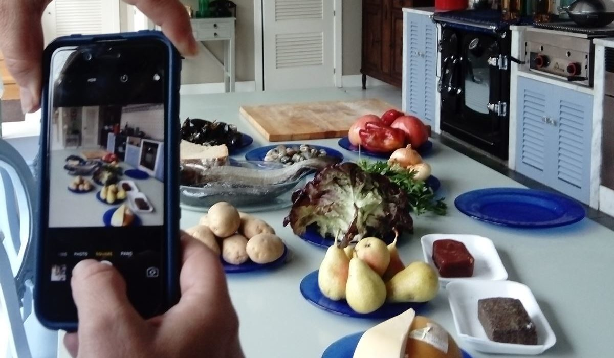 Cocinando en el Salnés
